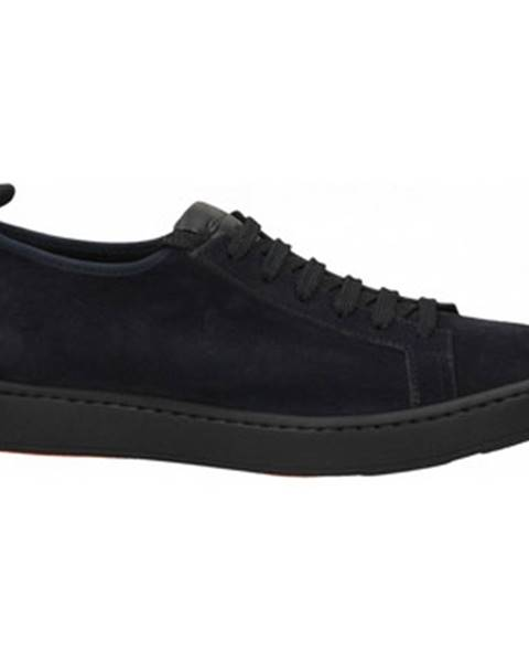 Modré topánky Santoni