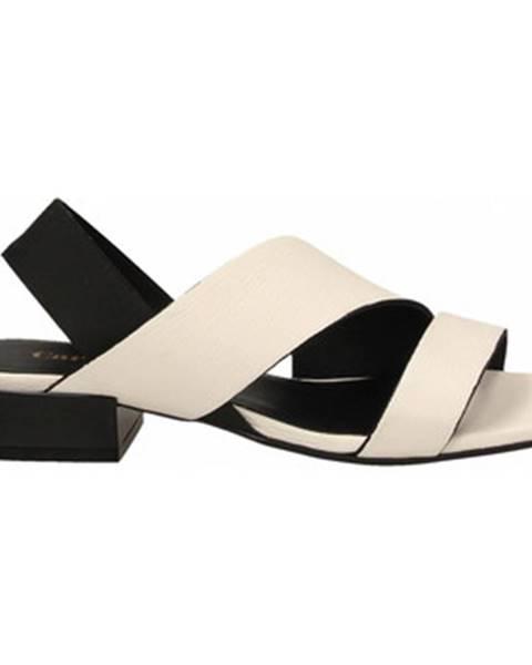 Biele topánky Carmens Padova