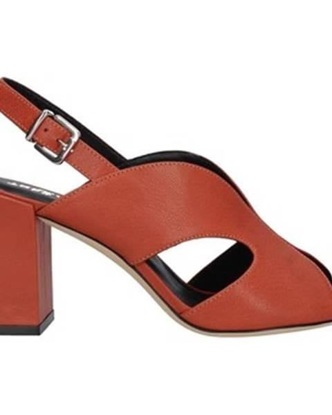 Oranžové topánky Tres Jolie