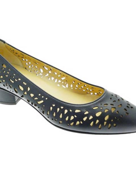 Modré topánky Donna Soft