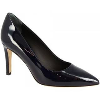 Lodičky Leonardo Shoes  1907 VERNICE BLU