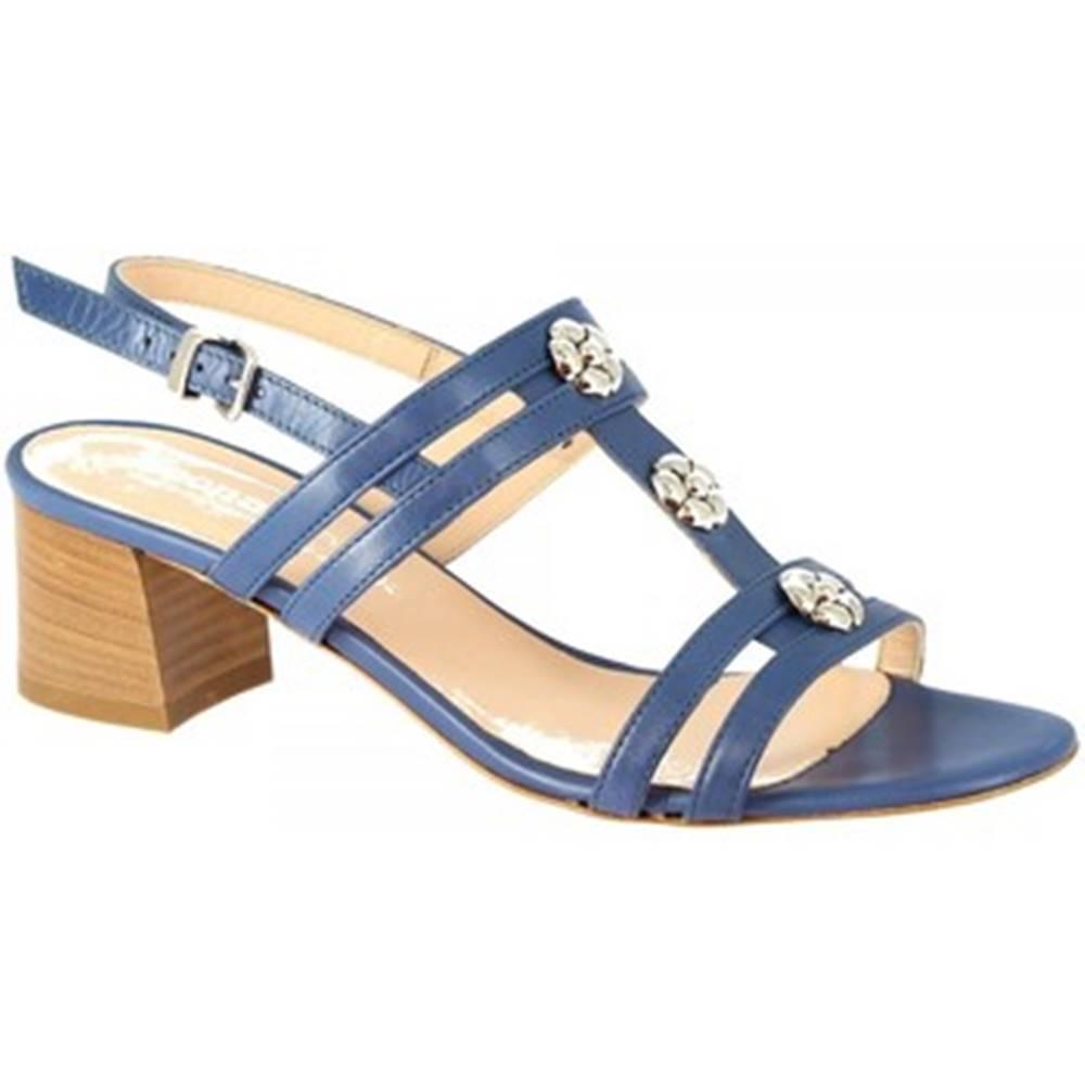 Leonardo Shoes Sandále Leonardo Shoes  5130 VITELLO COBALTO