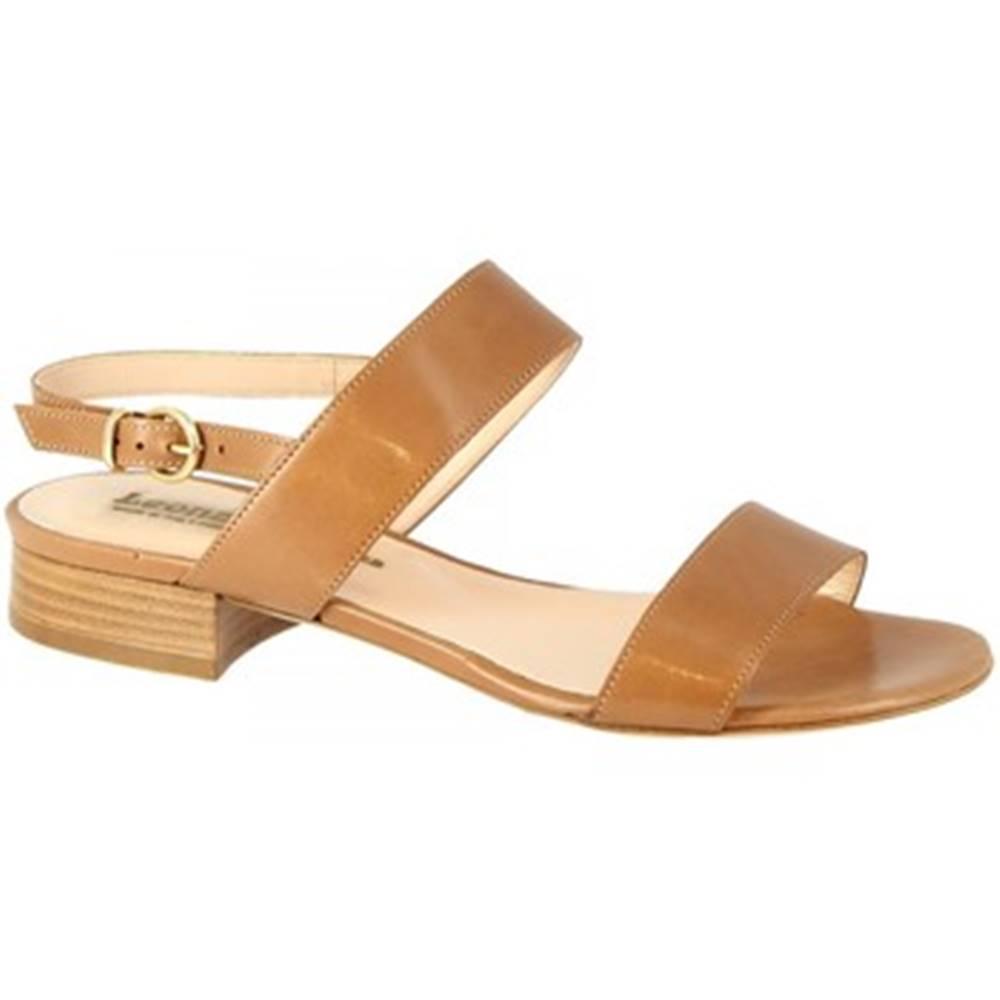 Leonardo Shoes Sandále Leonardo Shoes  3159 VITELLO SELLA