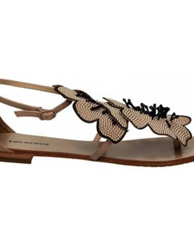 Hnedé topánky Lola Cruz