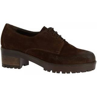 Derbie Leonardo Shoes  023-16 CAMOSCIO T. MORO