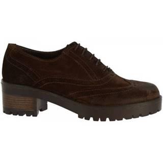 Derbie Leonardo Shoes  024-16 CAMOSCIO T. MORO