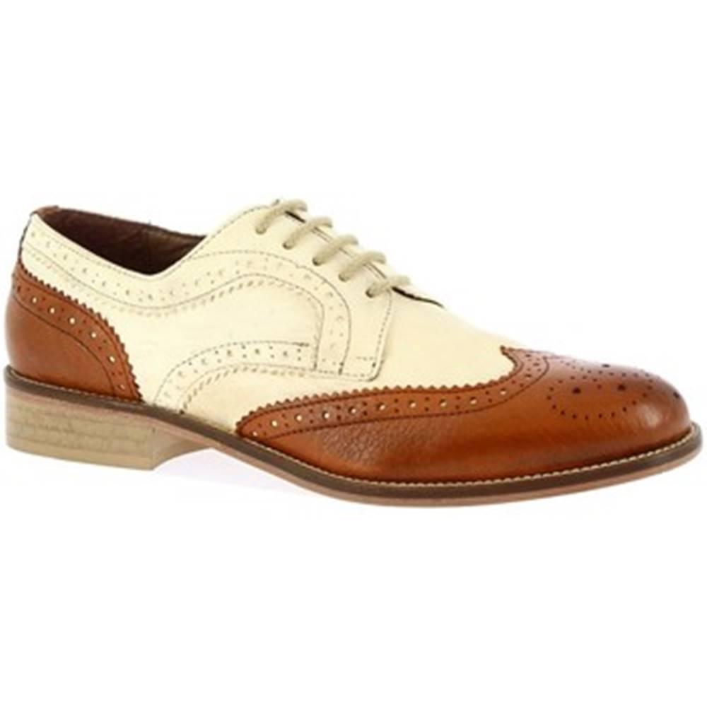 Leonardo Shoes Derbie Leonardo Shoes  331-15 CAPRA CUOIO