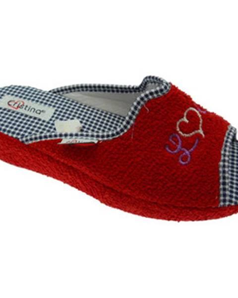 Červené papuče Cristina