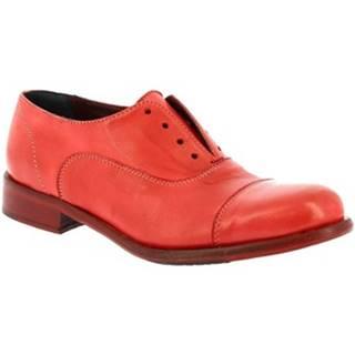 Derbie Leonardo Shoes  32894/10 PAPUA ROSSO