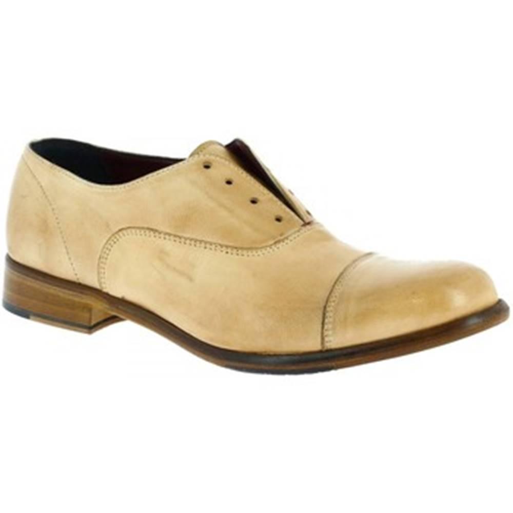 Leonardo Shoes Derbie Leonardo Shoes  32894/10 PAPUA CUOIO