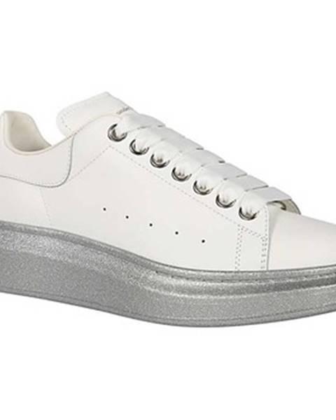 Strieborné topánky McQ Alexander McQueen