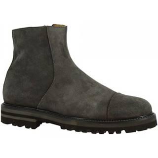 Čižmičky Leonardo Shoes  7403 CAMOSCIO GRIGIO