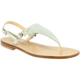 Sandále Leonardo Shoes  34/17 BIANCO