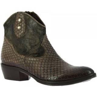 Čižmičky Leonardo Shoes  2016 PITONE FANGO