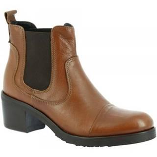 Čižmičky Leonardo Shoes  ME27 TOFFY CUOIO