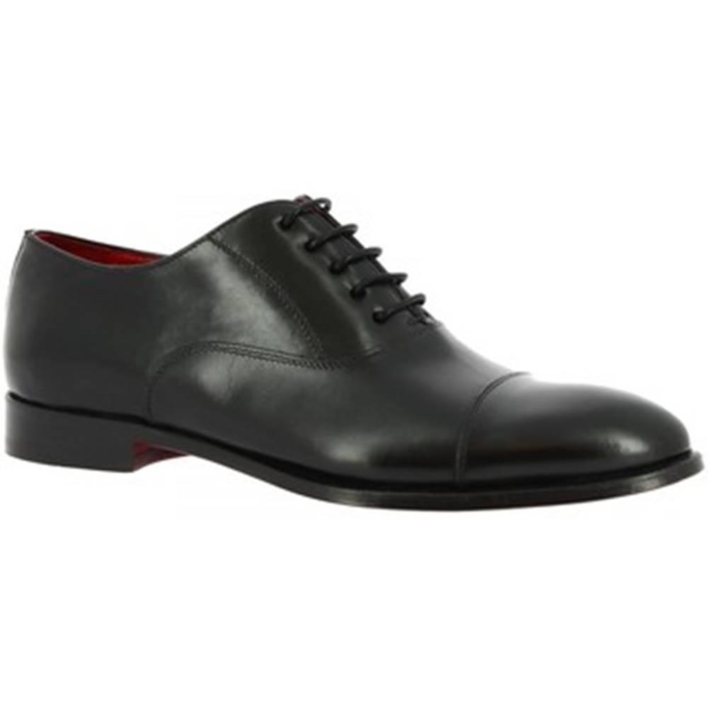 Leonardo Shoes Derbie Leonardo Shoes  9450E20 TOM MONTECARLO NERO