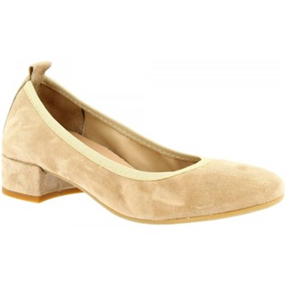 Leonardo Shoes Balerínky/Babies Leonardo Shoes  2381/JESSICA CAMOSCIO TAUPE