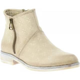 Polokozačky Leonardo Shoes  767215 CORDA