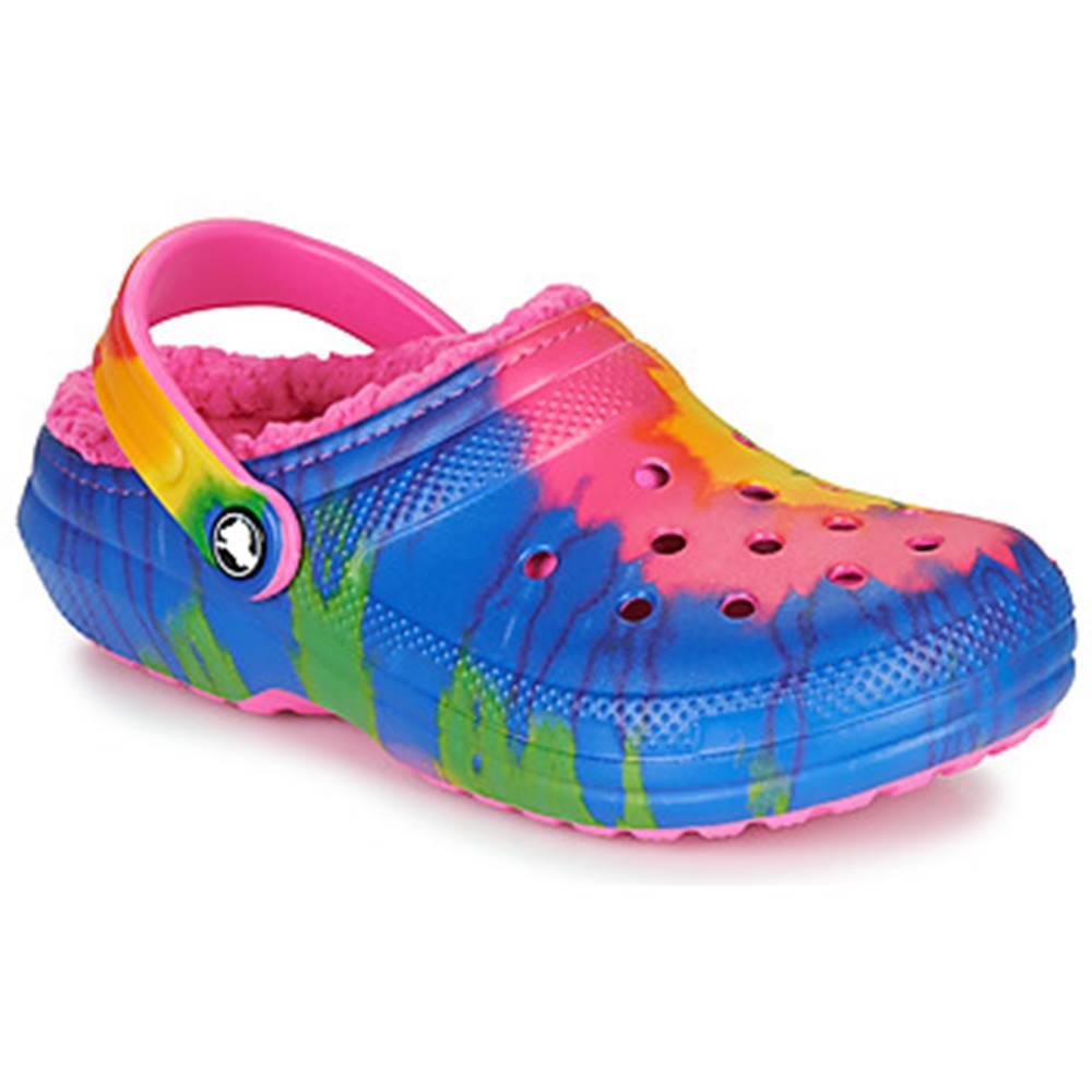 Crocs Nazuvky Crocs  CLASSIC LINED TIE DYE CLOG