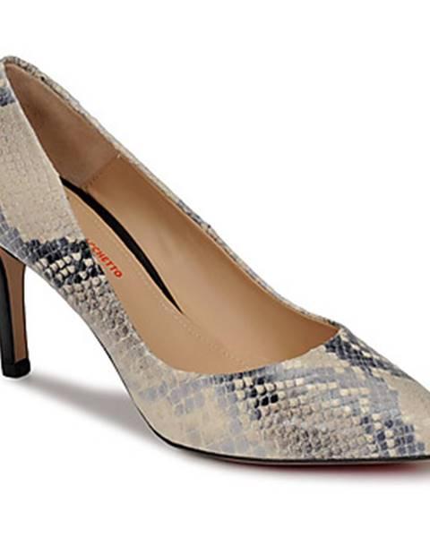 Béžové topánky Perlato