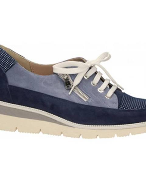 Modré topánky Duca Di Rialto