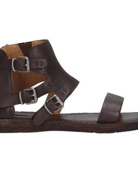 Hnedé topánky Rebecca White