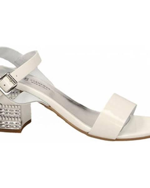 Biele topánky Antica Cuoieria