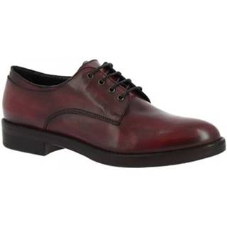 Derbie Leonardo Shoes  P153 ANTICO BORDO