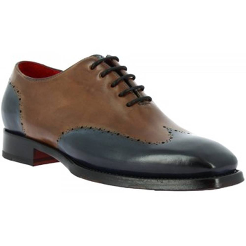 Leonardo Shoes Derbie Leonardo Shoes  9576E20 TOM MONTECARLO DELAVE BLU