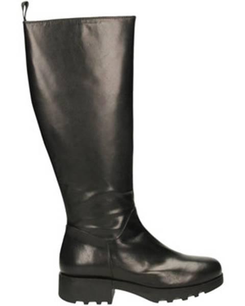 Čierne čižmy Adele Dezotti