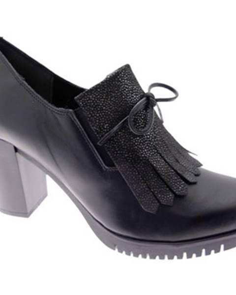 Čierne topánky Keys