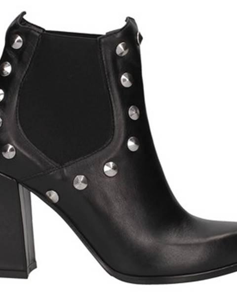 Čierne topánky Andrea Pinto