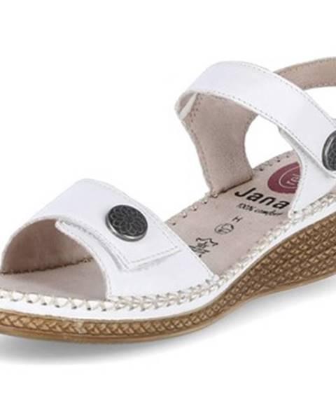 Biele topánky Jana