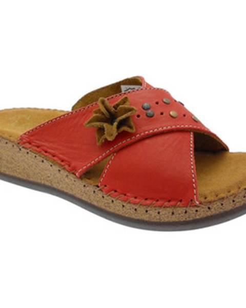 Červené topánky De Fonseca