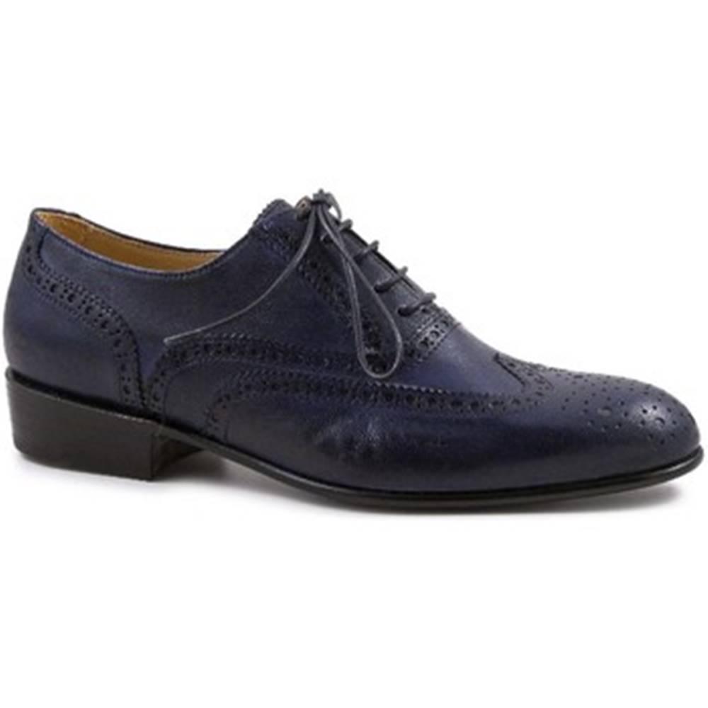 Leonardo Shoes Derbie Leonardo Shoes  PINA 037 BLU