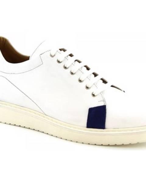 Biele tenisky Leonardo Shoes