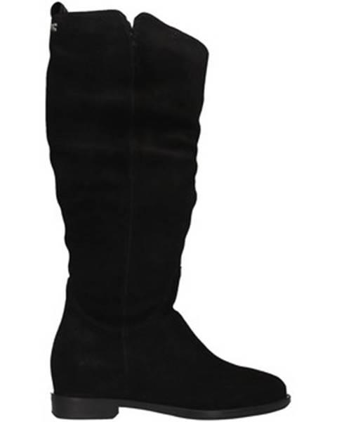Čierne čižmy Gioseppo