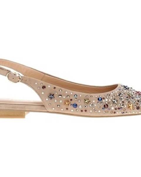 Béžové topánky Alma En Pena