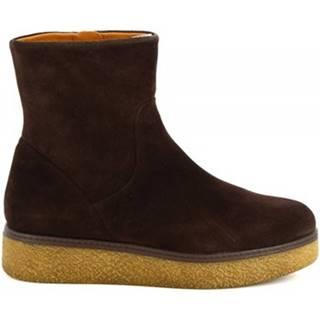 Čižmy do mesta Leonardo Shoes  3005/ VELVET EBANO
