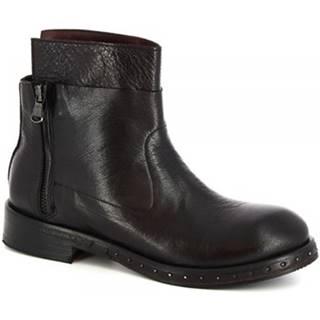 Polokozačky Leonardo Shoes  6918/2