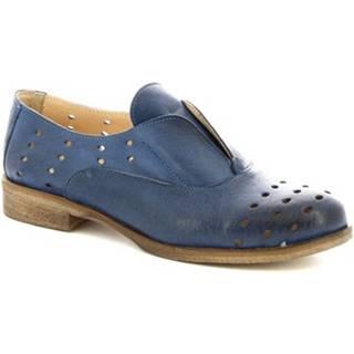 Derbie Leonardo Shoes  7 BLEU