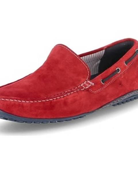 Červené topánky Sioux