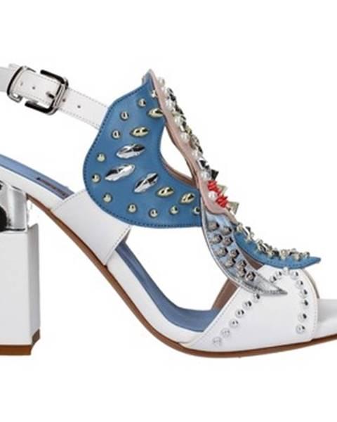 Biele topánky Albano