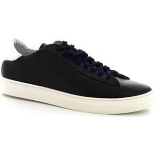 Nízke tenisky Leonardo Shoes  SMOOT/B VITELLO BLU