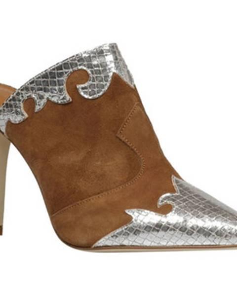 Hnedé topánky Paris Texas