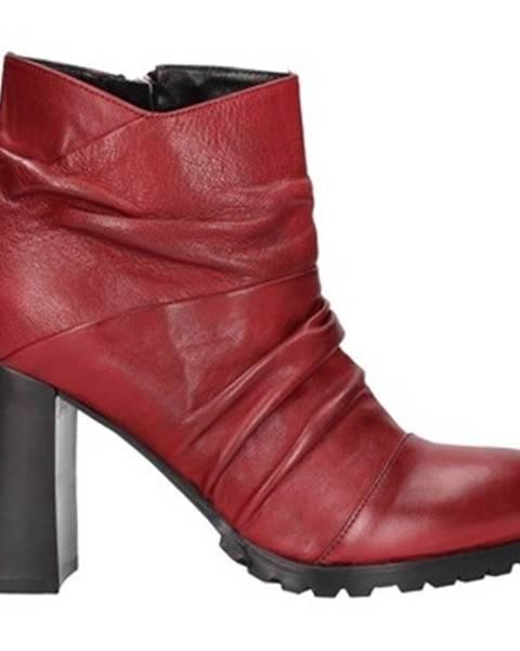 Červené topánky Alexandra/marta Mari