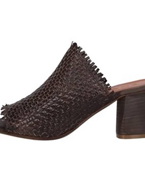 Hnedé topánky Zoe