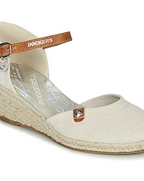 Béžové topánky Dockers by Gerli