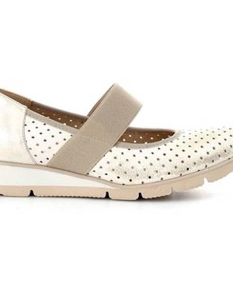 Žlté topánky Melluso