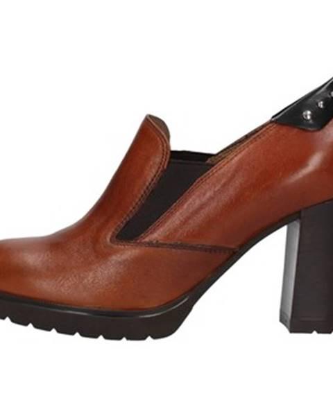 Hnedé topánky Melluso